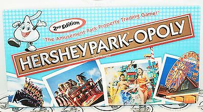 Hersheypark-Opoly The Amusement Park Property Family Toy Board Game 2Nd Edition