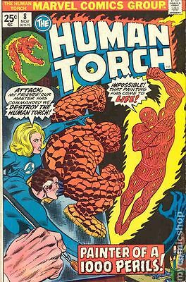 Human Torch (1974 1st Series) #8 VG 4.0 RESTORED LOW GRADE