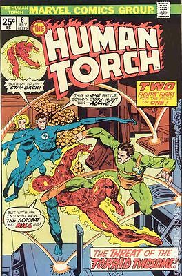 Human Torch (1974 1st Series) #6 VG 4.0 LOW GRADE
