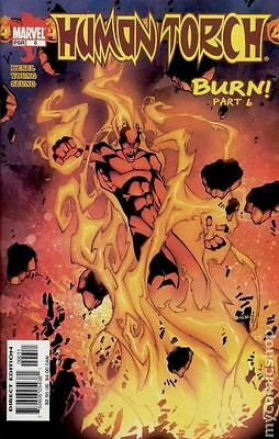 Human Torch (2003 2nd Series) #6 VG LOW GRADE