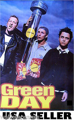 Green Day Nimrod era POSTER 14.5 x 21 from band that made Dookie &sent from USA