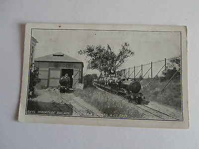 Engines And Shed - Rhyl Miniature Railway