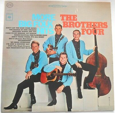 The Brothers Four More Big Folk Hits LP