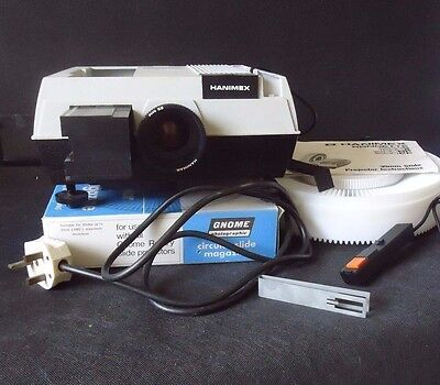 Hanimex Rondette 1500A Slide Projector and 3 carousels