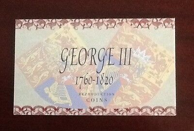 Presentation Pack Of Reproduction Coins From George Iii