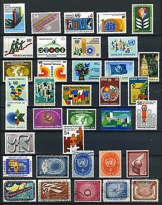 United Nations small collection used and mint