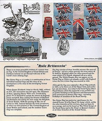 "GB Stamps 2004 ""Rule Britannia"" Limited Edition Benham First Day Cover"