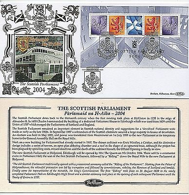 "GB Stamps 2004 ""Scottish Parliament"" MSS152 Benham First Day Cover"