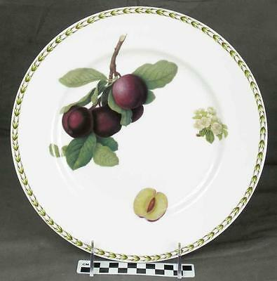 Queen's Hookers Fruit Dinner Plate Plums Royal Horticultural Society India (HH)