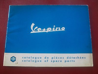 Catalogue  VESPINO & VESPA  Moto Vespa Scooter Parts & Spares 1968