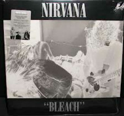 NIRVANA Bleach 2009 US 180g white vinyl 2-LP + MP3 SEALED remastered Sub Pop