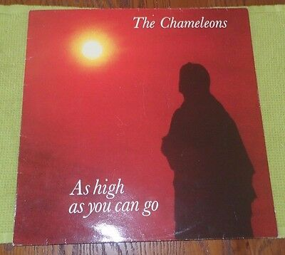 """The Chameleons As High As You Can Go Statik 3012 1983 12"""" A1 / B1 All Ex"""