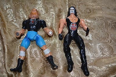 * 2 WRESTLING FIGURES*  including STING  1999 WCW