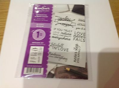 Crafters Companion ~ IN FULL BLOOM ~ Unmounted Rubber Stamps  ~  New ~ Free P/P