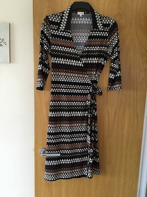 Size 12  By. Phase Eight.   Ladies Wrap Round Style Dress