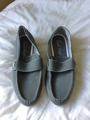 Frank Wright Slip On Canvas Shoes - Size 10 - Grey
