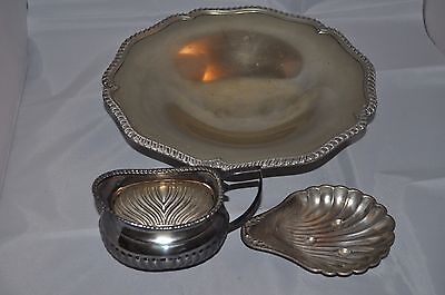 Job Lot Of Silver Plate Items