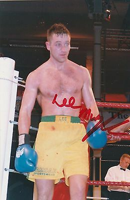 Lee Murtagh  Hand Signed Coloured Photo