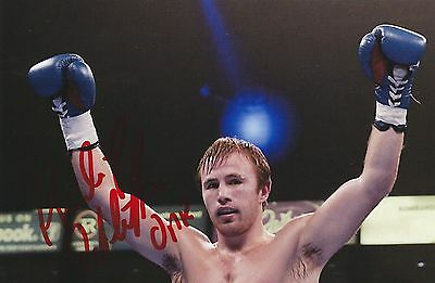 Phillip Sutcliffe Jnr  Hand Signed Coloured Photo
