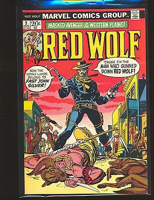 Red Wolf # 5 VF+ Cond.