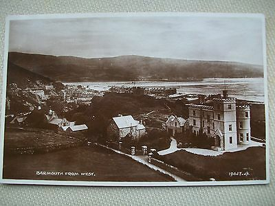 1929 Barmouth From The West - Valentines  Rppc