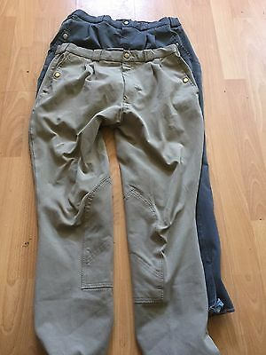 Men's Horse'in Breeches Size 30 Two Pairs
