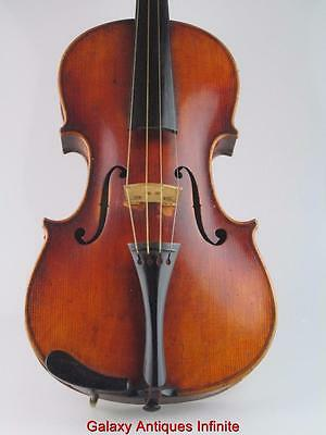 Antique 19th Century Violin Christian Hoffmann Sachsen 1897