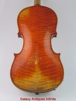 Antique 19th Century Violin Antonius Stradiuarius Circa 1880
