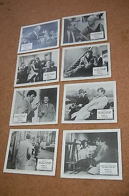 West 11 (1963) - Rare Full Set Of 8 Uk Lobby Cards - Diana Dors - Alfred Lynch