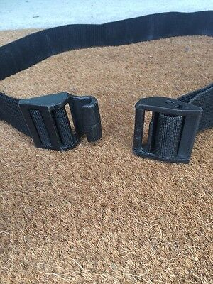 "Scuba Free Diving Quick Release Weight Belt One Size Fits Up To 52"" Waist."