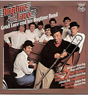 Geoff Love ~ Ragtime With Love ~ 1974 Uk 12-Track Lp Record ~ Mfp 50151