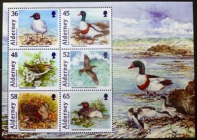 Alderney 2011 Birds of the Bailiwick  Miniature Sheet MNH