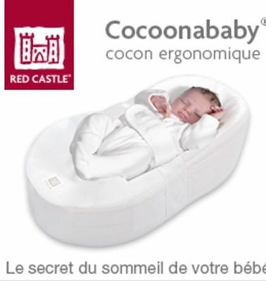 Cocoonababy_Red Castle_Matelas Ergonomique_comme NEUF_achat 1/2017_servi 3 mois