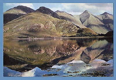 Dixon Postcard - The Five Sisters Of Kintail, Scottish Highlands