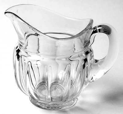 Imperial Glass Ohio OLD WILLIAMSBURG CLEAR Pint Pitcher 237448