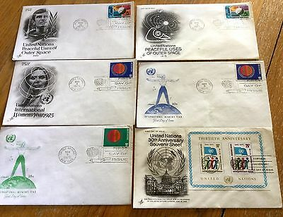 Job Lot Of United Nations First Day Covers  First Day Covers Some Rare