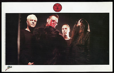 MUDVAYNE 2008 Promo Photo/Post Card !!! THE NEW GAME Epic Records