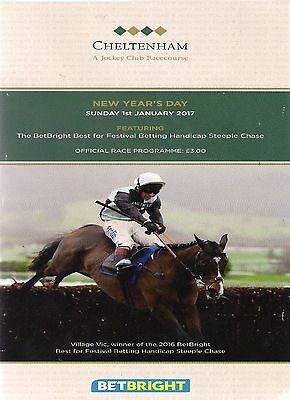 CHELTENHAM  RACECARD 1st January 2017
