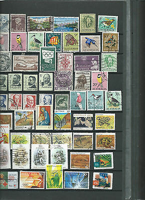 Timbres Obliteres D Australie / Used Australian Stamps