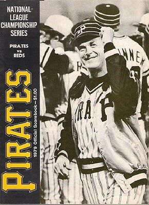 REDS @ PIRATES 1979 National League Championship Series Official Scorebook