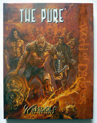 THE PURE - WEREWOLF THE FORESAKEN - WORLD OF DARKNESS - HB 1st Edition - New