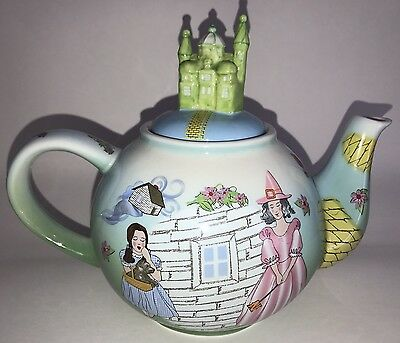 Wizard of Oz Teapot Has Wizard's Castle Lid Designed By Carded 2004