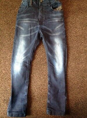 Lovely Boys Dark Blue Jeans From Next Age 6