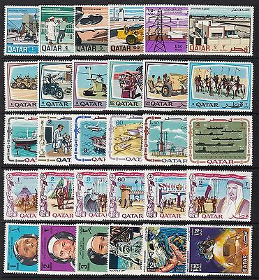 Qatar 1969 Commemorative Sets Unmounted Mint