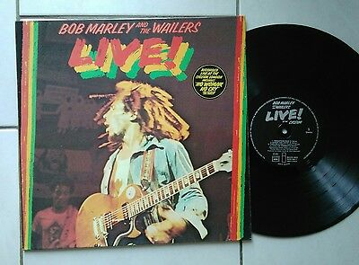 Vinyle 33T Bob Marley And The Wailers Live De 1975