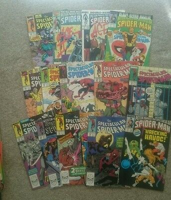 Spectacular Spider-Man comics job lot, 14 issues, Excellent condition
