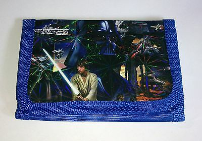 NEW STAR WARS KIDS COIN Purse WALLET Party Bag Gift Filler Prize Blue