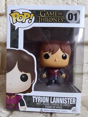 Funko Pop Figure,  Game of Thrones #1 Tyrion Lannister, Brand New.