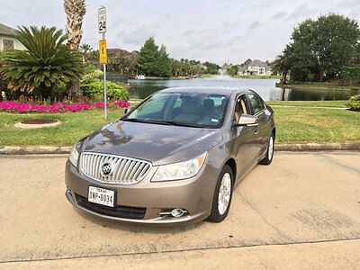 2012 Buick Lacrosse Buick LaCrosse LIKE NEW 1-OWNER ALL SERVICE HISTORY PRISTINE A MUST SEE & DRIVE