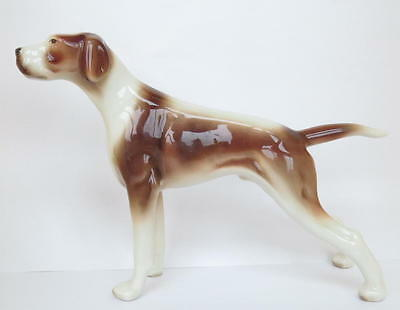 Vintage Goldcrest / Goldscheider Dog Figurine: Pointer # 1117
